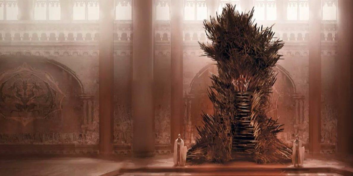 El trono de hierro